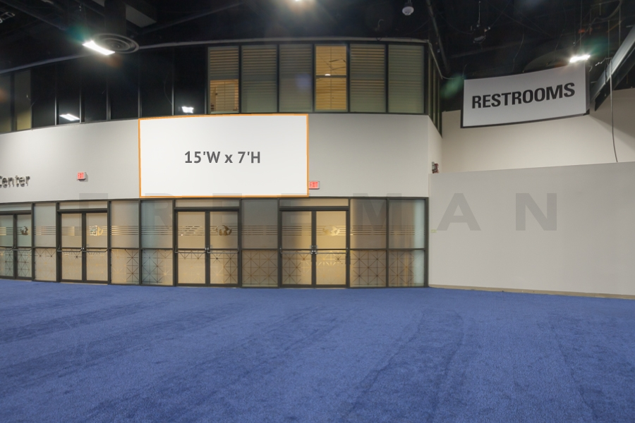asdasdExhibit Hall Entrance to Conference CH1-B5