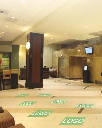 asdasdMarriott Floor Decals