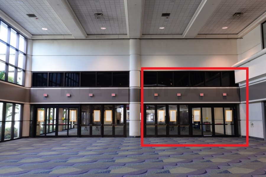 Door Clings Opportunity 5 - Outside of Hall D (Right Side) & PLANTOUR - Show Opportunity