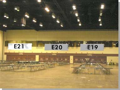Exhibit Hall Banner E21
