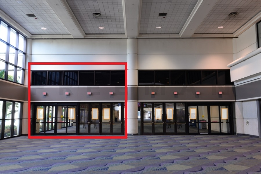 asdasdDoor Clings Opportunity 2 - Outside of Hall D Left Side  (L2-68) - Lyft