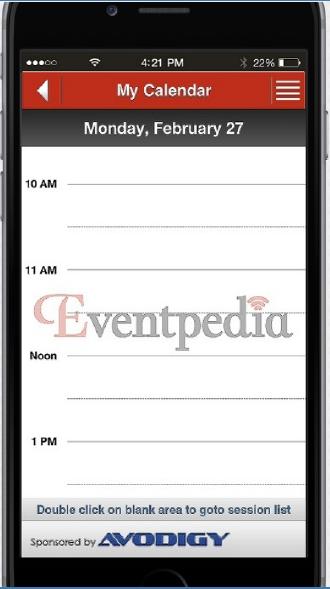 App Sponsor - Calendar Background Image