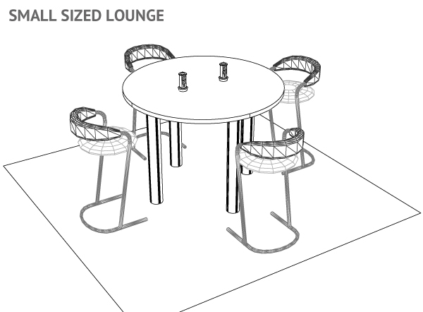 Small or Medium Sized Lounge L3-L2
