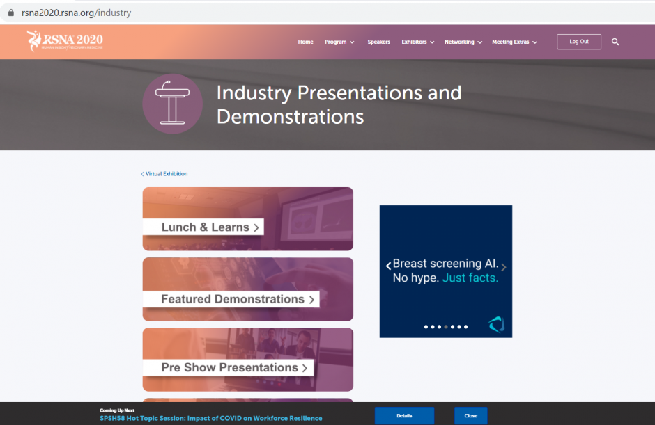 asdasdIndustry Presentation Landing Page - Square Tower Banner