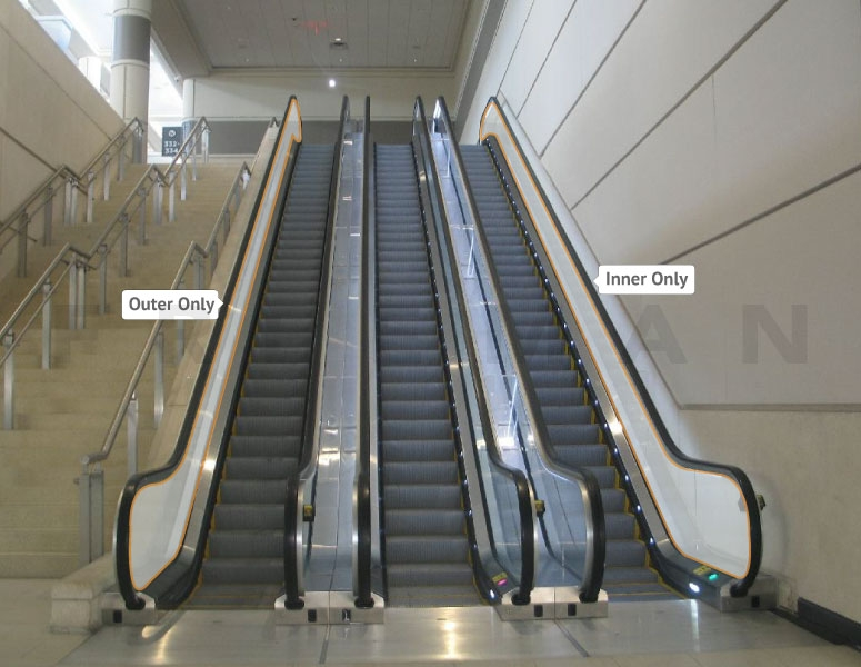 Escalator Graphics Opportunity #12 Outside Hall F (L2-ESC12)