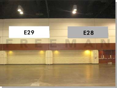 Exhibit Hall Banner E29