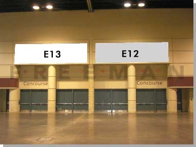 Exhibit Hall Banner E13