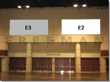 Exhibit Hall Banner E2