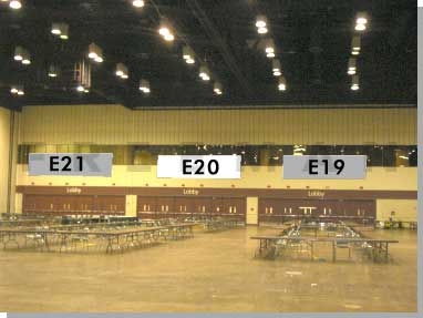 Exhibit Hall Banner E20