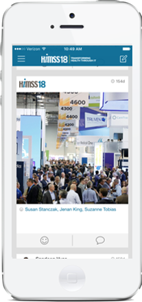 asdasdThe Official HIMSS18 Mobile App Sponsorship