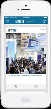 asdasdThe Official HIMSS18 Mobile App Sponsorship