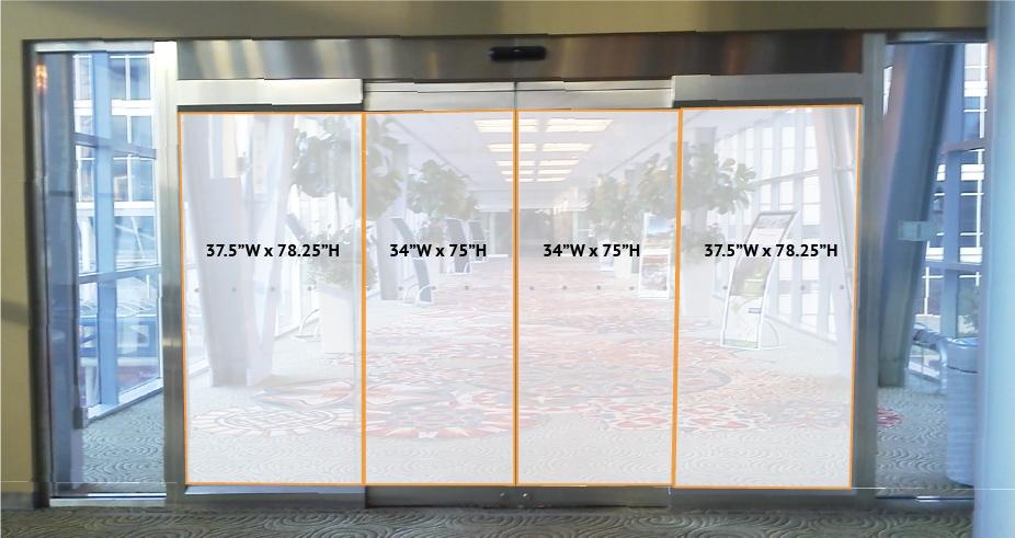 Skywalk Bridge Door Cling - 2nd Floor & PLANTOUR - Show Opportunities