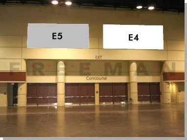 Exhibit Hall Banner E4