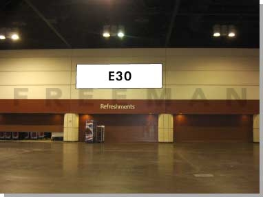 Exhibit Hall Banner E30