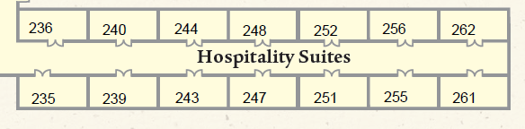 Exhibitor Hospitality Room 235 - Deloitte