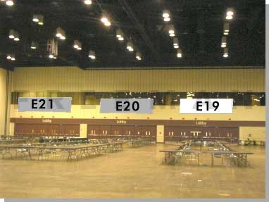 Exhibit Hall Banner E19