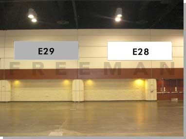 Exhibit Hall Banner E28