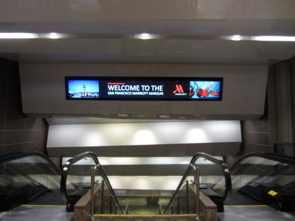 asdasdOverhead Digital Sign 1