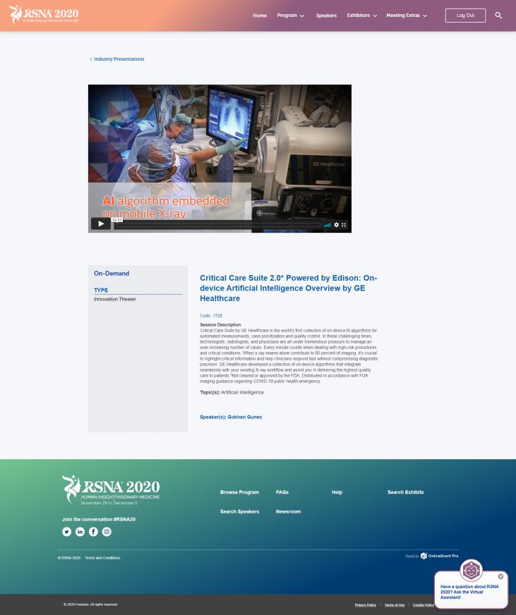 asdasdRSNA Pre-Event Home Page Spotlight