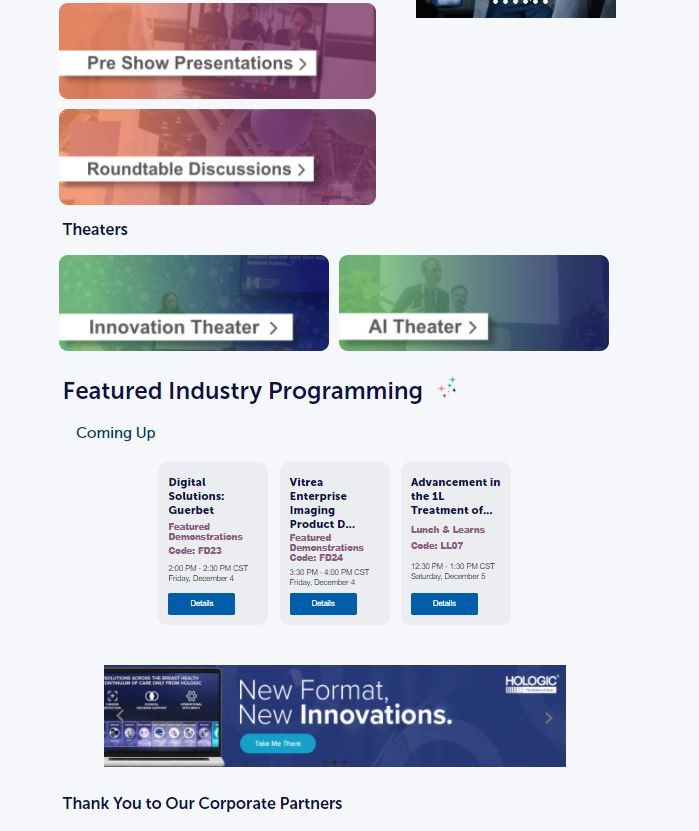 Industry Presentation Landing Page - Horizontal In-Content Banner
