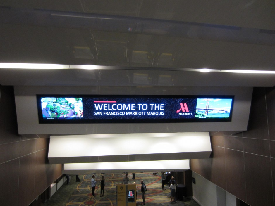 Overhead Digital Sign 2