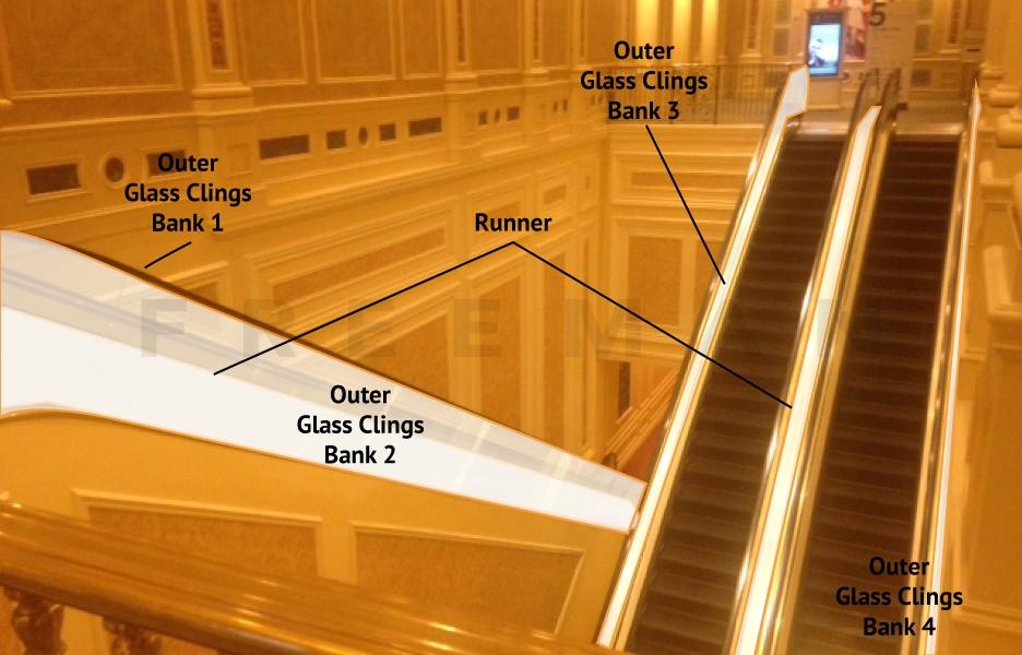 Escalator Graphics Level 4-5 (2 Clings, 1 Runner) Opportunity 2