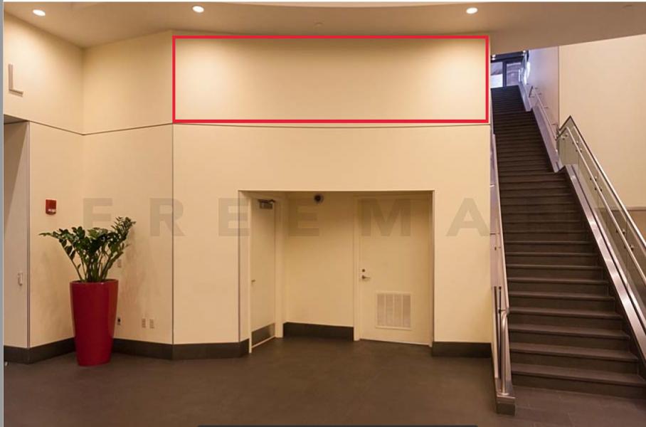 Seaport Lobby - Fascia RHS of Doors into Exhibit Hall - SL1-C5
