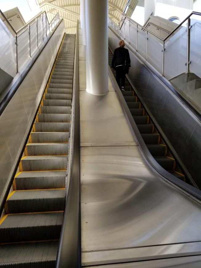 Hyatt Skybridge - Column Wraps - Vocera