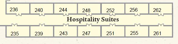 Exhibitor Hospitality Room 256 - Olive