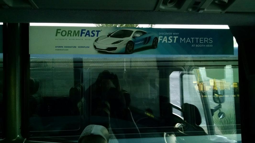Bus Wraps - Interior/Exterior - Route 3 - Salesforce