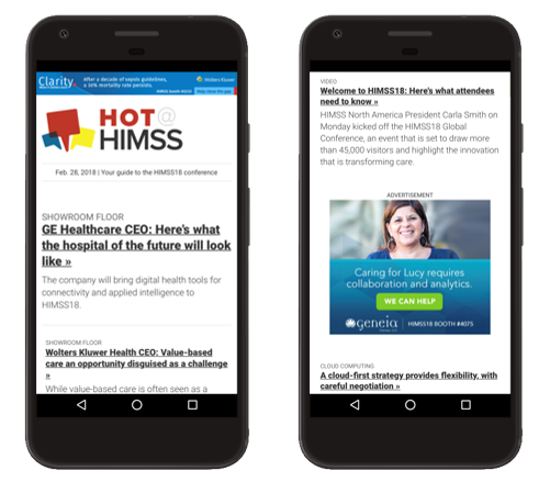 asdasdHot@HIMSS eNewsletter