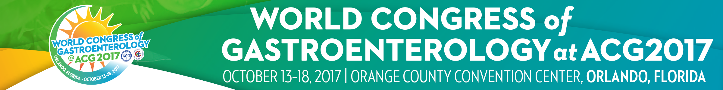World Congress of Gastroenterology at ACG2017
